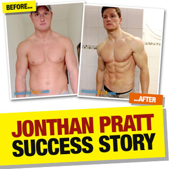 Jonthan Pratt sorted his diet and lost a massive 17kg plus
