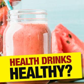 health drinks healthy