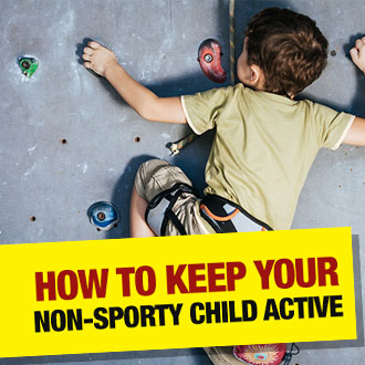 How To Keep Your Non-Sporty Child Active