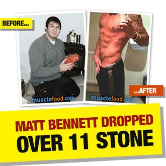 Matt bennett transformation story