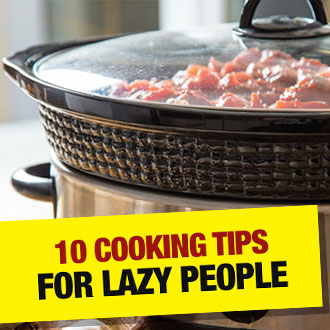 10 east, healthy and super simple cooking tips for lazy people - well, it's not for everyone, is it...
