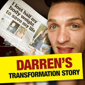 Darren dropped a MASSIVE 8.5 stone after his doctor warned he would DIE if he didn't change his ways.