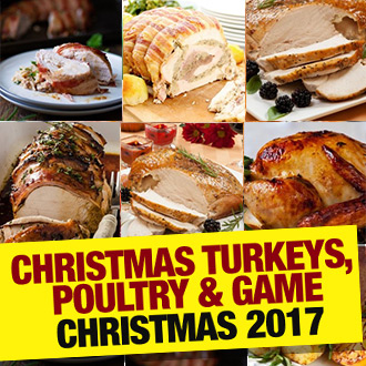 Turkey?  Four Bird Roast?  Goose?  Game?  Meaty decisions made easier thanks to Muscle Food...