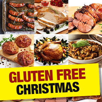 Have yourself a GLUTEN FREE Christmas with Muscle Food, all certified, all delicious...!