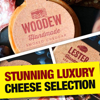 No Christmas feast would be complete without some CHEESE, and boy do we have some tasty truckles for you...