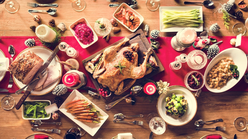 A 2500 Calories Christmas Dinner? It's Doable! Here's How…