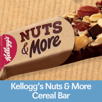 Kelloggs Nuts and More Cereal Bar
