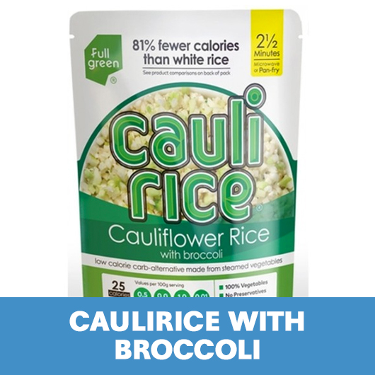 caulirice with broccoli