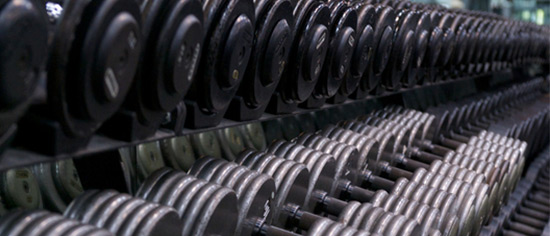 Rack of weights