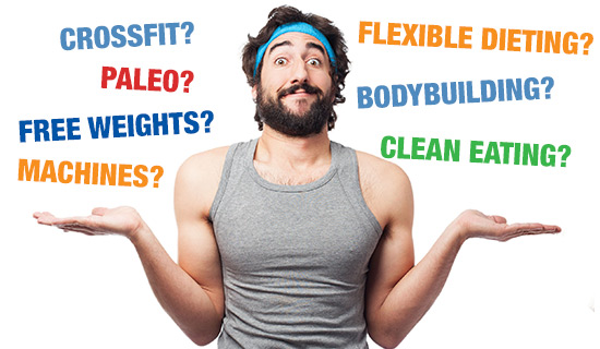 Crossfit Vs Bodybuilding. Paleo Vs Clean Eating. Free Weights Vs Machines. Which Fitness Fad REALLY Works? - by Phil Graham