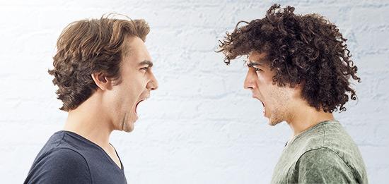 shouting argument