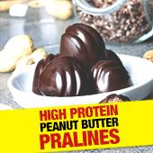 High Protein Peanut Butter Pralines!