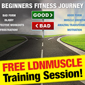 Get the results you deserve with LDNM... - Free workout plan