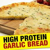 High Protein Cheesy Garlic Bread