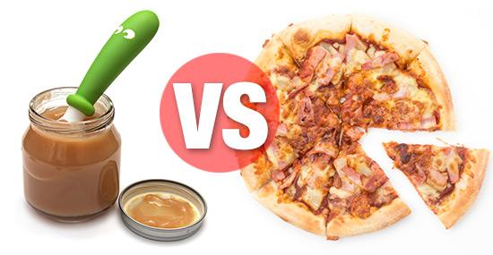 baby food vs junk food