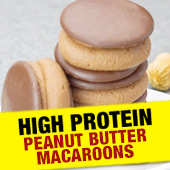 High Protein Peanut Butter Macaroons