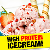 Ice Cream = pure happiness! And with +21g protein PER SERVE, think of those GAINZ…