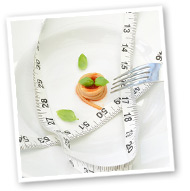 tape measure and plate