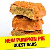 Pumpkin Pie Quest Bars