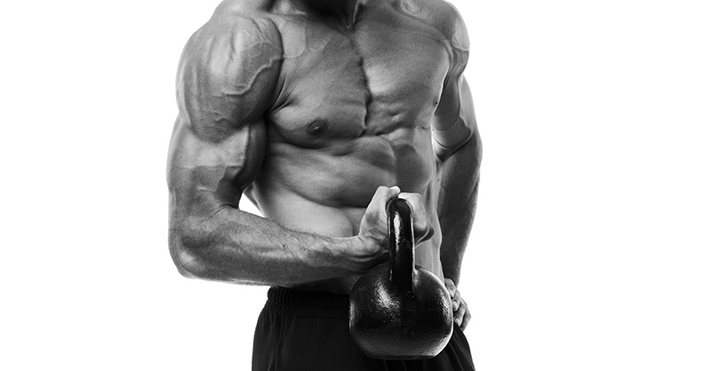 the weight you're not using: the kettlebell