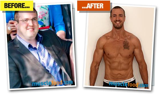 Gareth - Before & After
