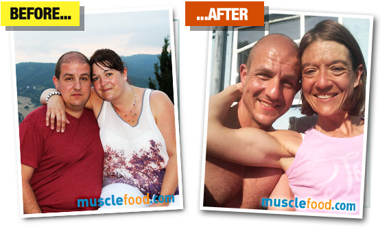 Clair and Adam - Before & After