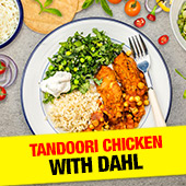Tandoori Rice with Dahl