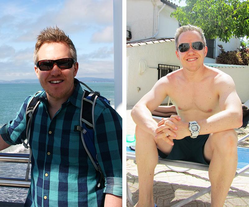 Jon Dean- Before & After