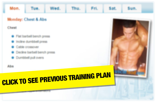 Joel Corry previous meal plan