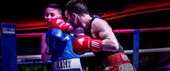 Matt in the ring