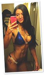Melissa Bikini Selfie