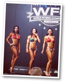 Amanda Stanton winning WFC