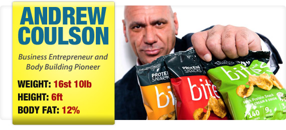Andrew Coulson - Business Entrepreneur and Body Building Pioneer