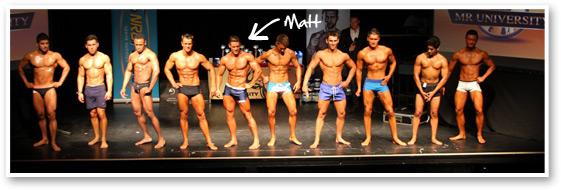 Mr University Line Up