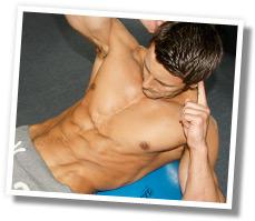 Sam Welsh - abs training