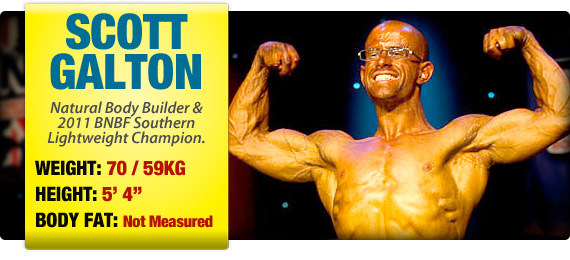 Scott Galton - Competing Natural Body Builder