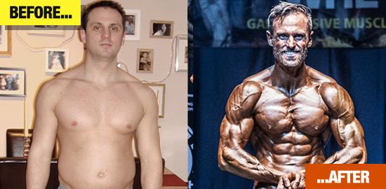 Simon Stevens - transformation picture