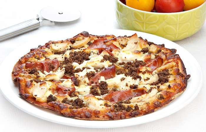 Muscle Food Mighty Meaty Protein Pizza