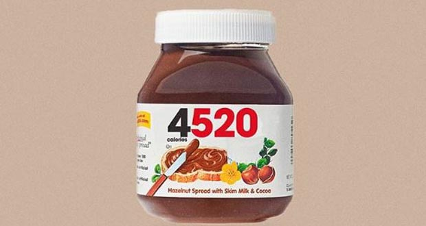 Calorie Brands Nutella