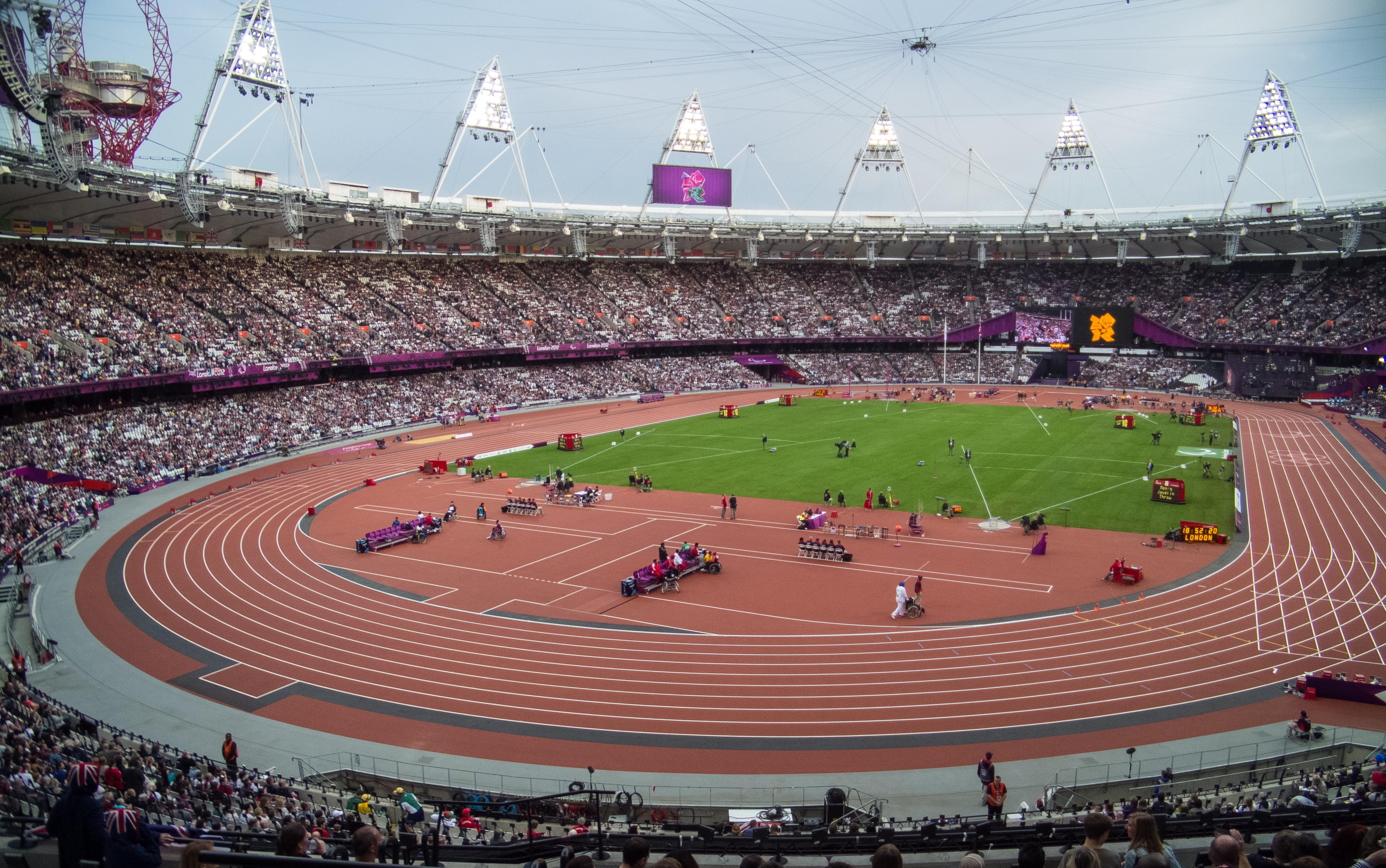 London Olympics 2012 stadium