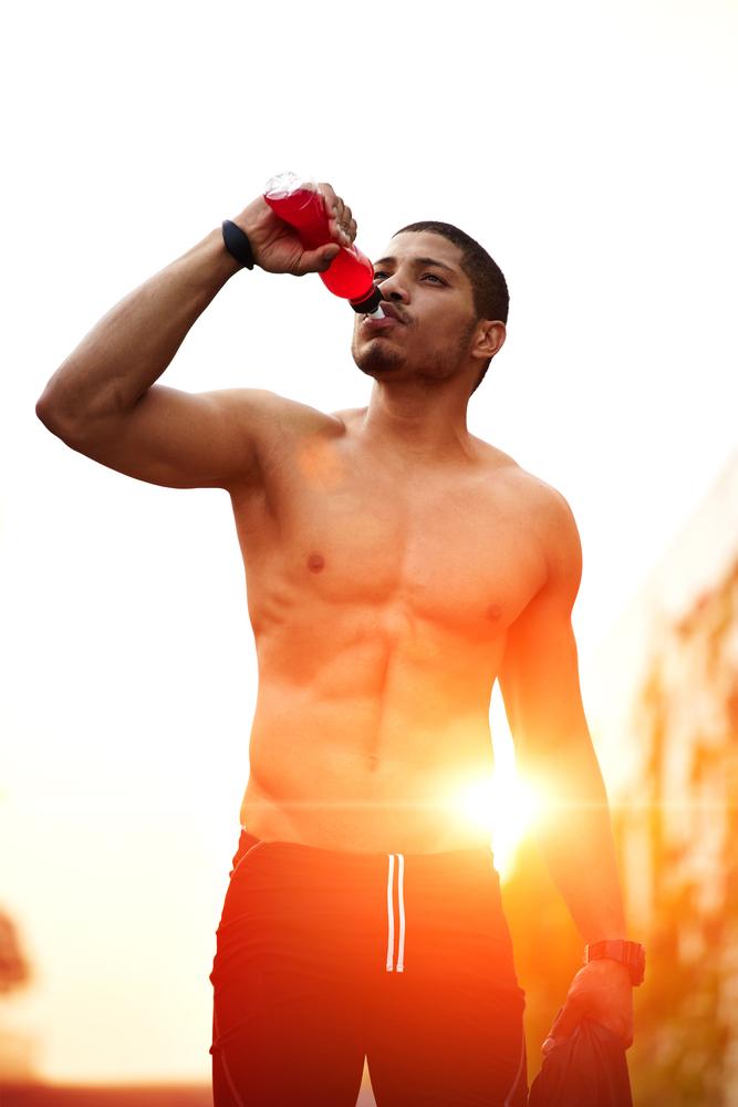 drink plenty of fluids when exercising