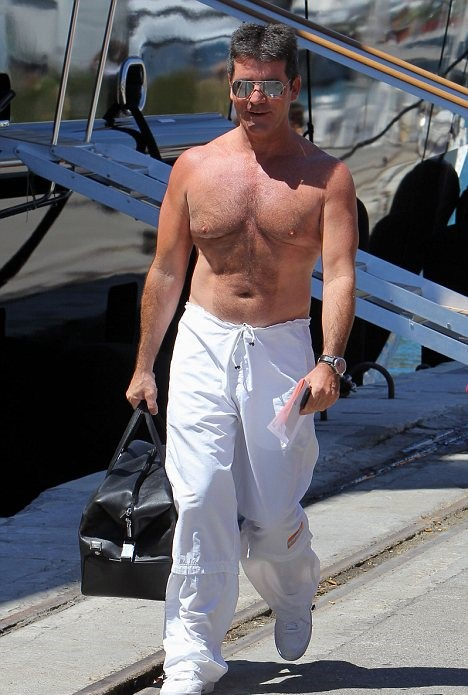 Simon Cowell Man Boobs