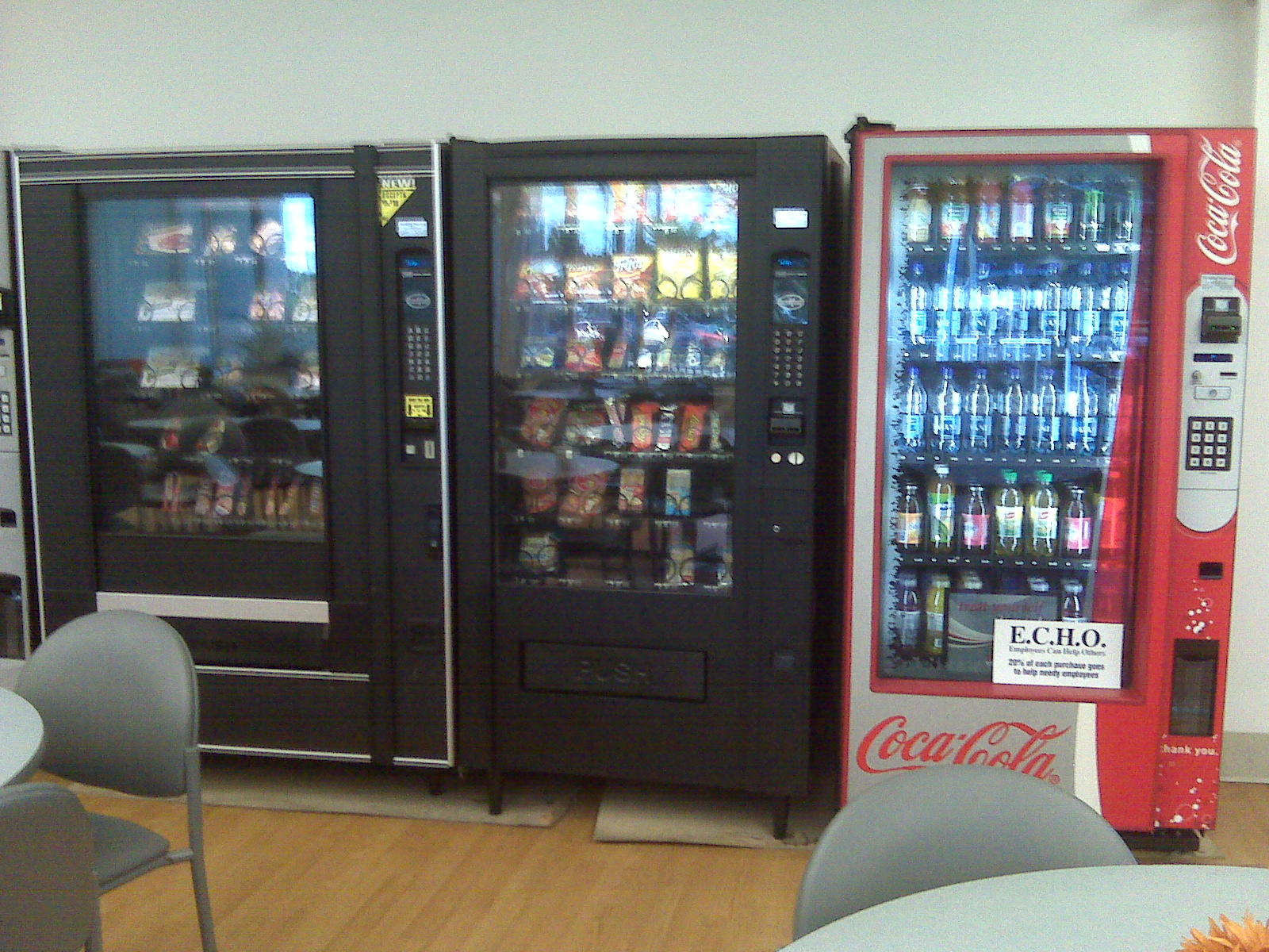 hospital vending machines