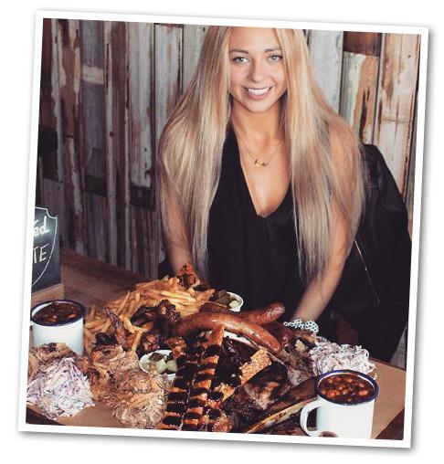 Kate Eating Challenge