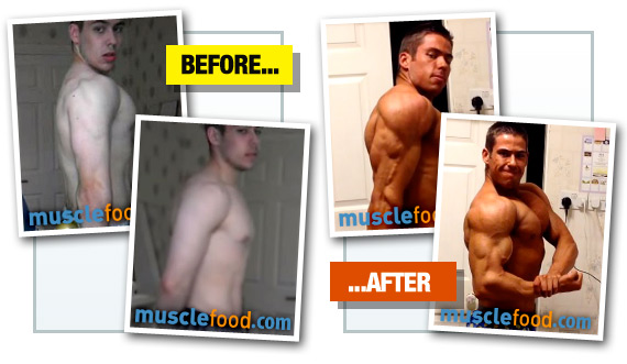 Adam Foster - Before & After