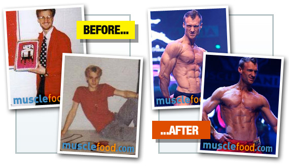 Christopher Maslon - Before & After