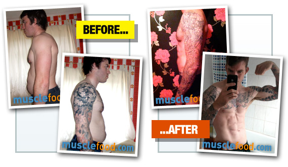 Dan Mundy - Before & After