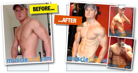 Jonathan Pratt - Before & After