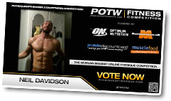 Neil Davidson - Physique of the Week