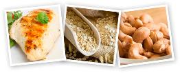 Chicken, Oats & Nuts